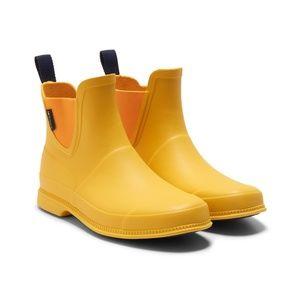 TRETORN Eva Lag Yellow Rain/Snow Booties Boots